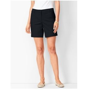 Talbots Black PERFECT SHORTS MID LENGTH